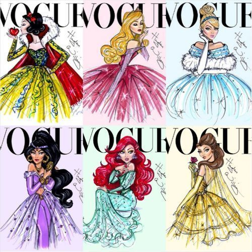 Disney princess Vogue