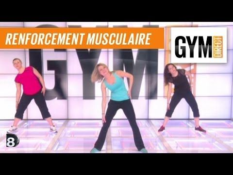 ▶ Cours gym : renfort musculaire 35 : Taille & abdos - YouTube