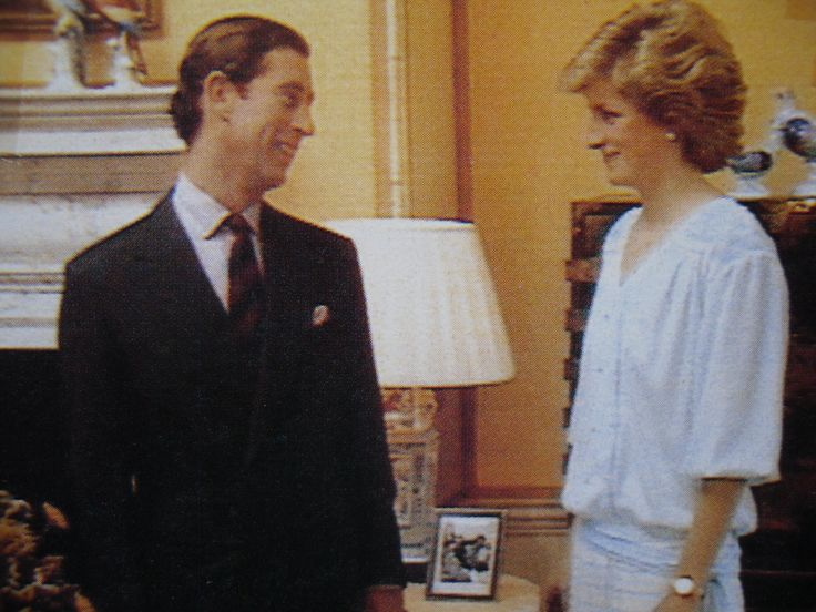 Charles & Diana at Highgrove