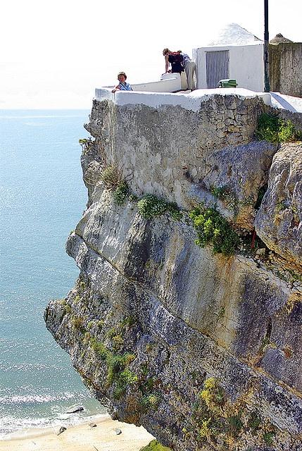 Looking the ocean ,Portugal  - NAZARÈ