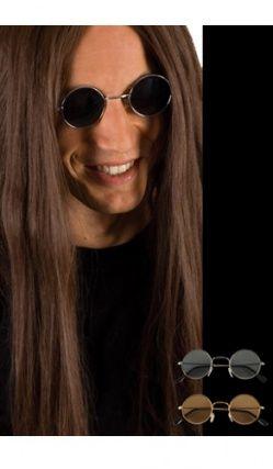 Paire De Lunettes John Lennon Monture Argent