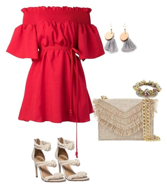 Summer Outing  outfit by ogeajibe on Polyvore featuring polyvore, fashion, style, storets, Cynthia Rowley and clothing