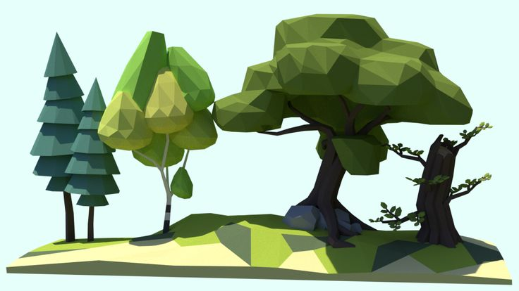 Tutorial: Low Poly Trees