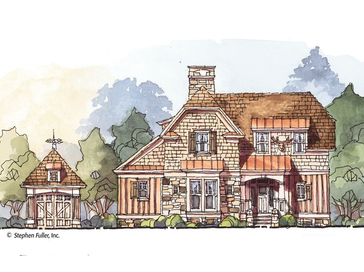 Best Stephen Fuller Inc Luxury Floor Plans Lake House 400 x 300