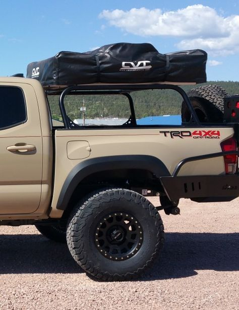 c4 fab 2016 tacoma full height bed rack 6