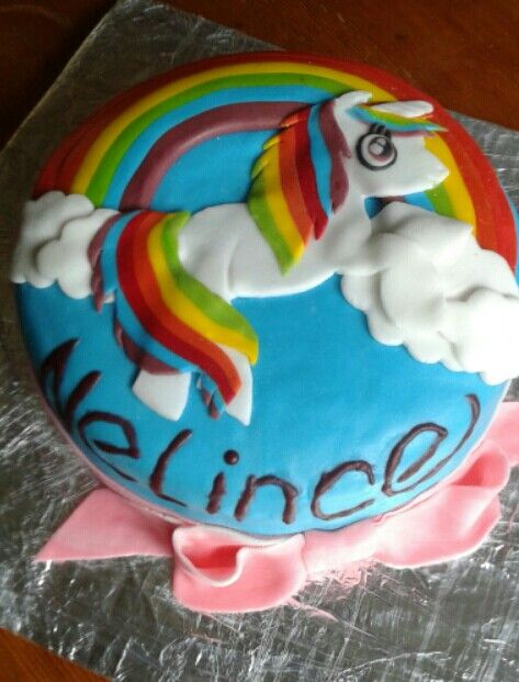 Dort Duhový jednorožec - Rainbow unicorn