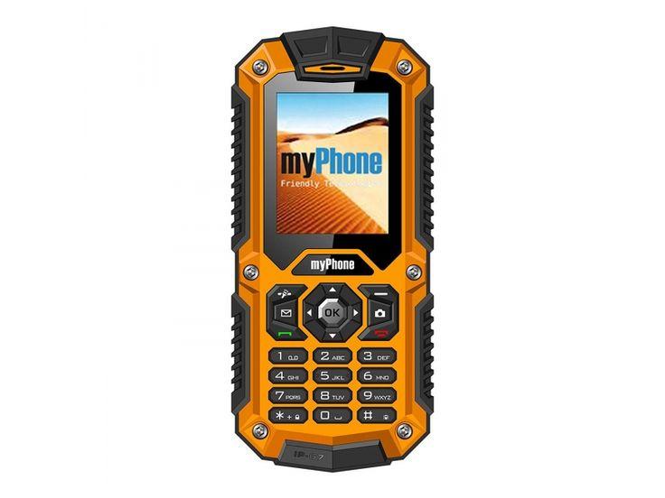 myPhone HAMMER pomarańczowy-205948 - Zdjęcie 1