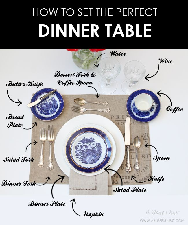 Set the perfect dinner table! We are showing you a simple and easy guide to set…