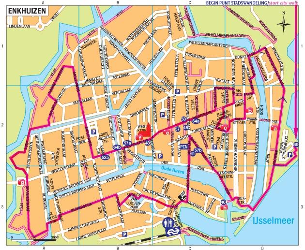 Stadswandeling Enkhuizen