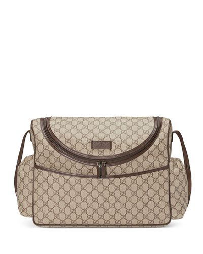 bee39d5a6 GUCCI . #gucci #bags #baby bags #leather #canvas #nylon #lining ...
