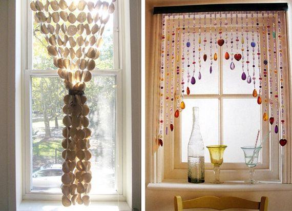 Cansou das tradicionais cortinas? Veja aqui algumas ideias que você pode copiar na sua casa. - Veja mais em: http://www.vilamulher.com.br/decoracao/decoracao-e-design/cortinas-4-ideias-para-sair-do-comum-m0515-703201.html?pinterest-destaque