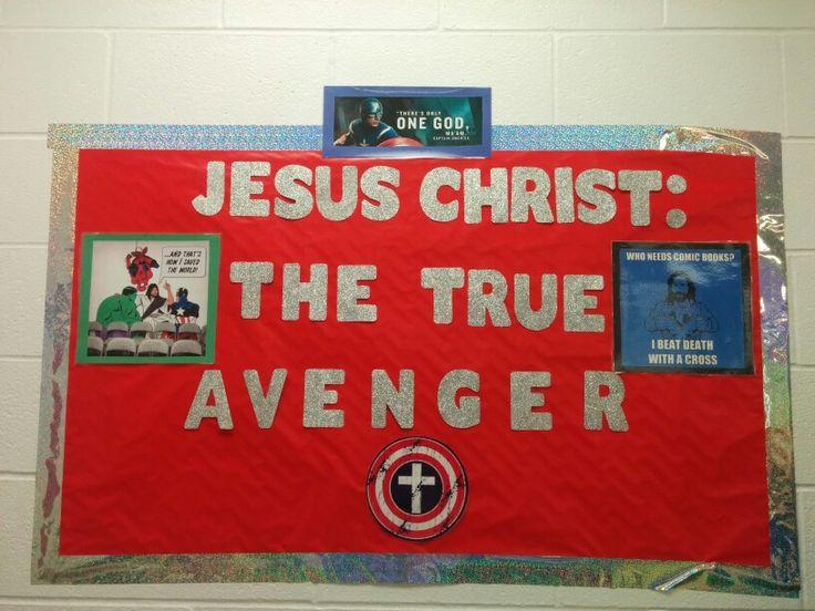 Jesus Christ The True Avenger Bulletin Board Avengers