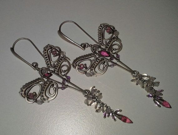 Check out this item in my Etsy shop https://www.etsy.com/uk/listing/123620861/fairytales-wedding-earrings-amazing