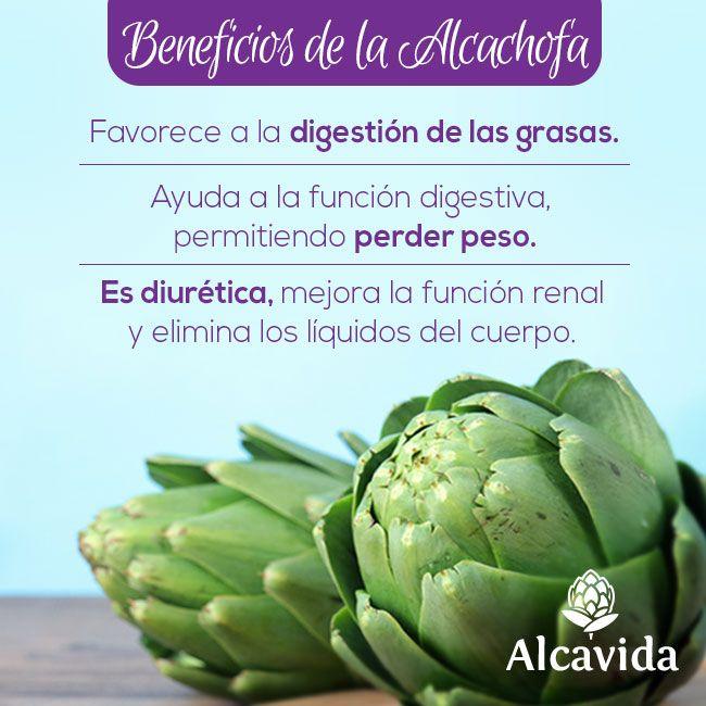 ¡Beneficios de la alcachofa #alcachofivida!