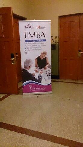 EMBA opens doors.