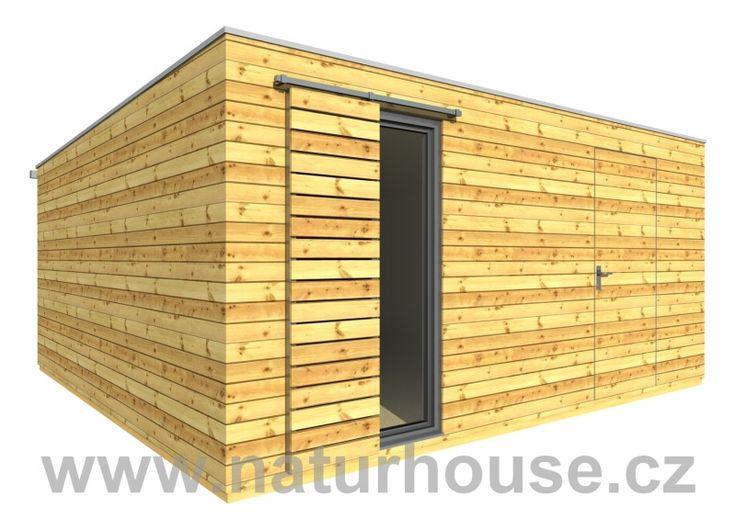 Dřevěný domek na nářadí 5x5 m