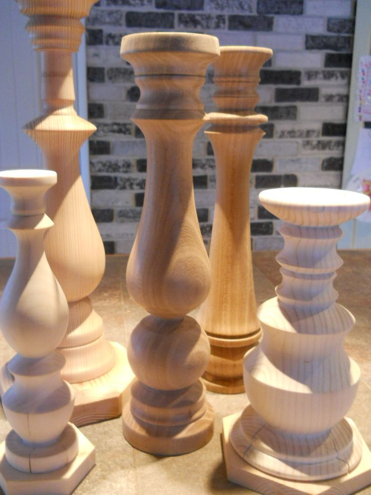 25 best ideas about wood candle holders on pinterest