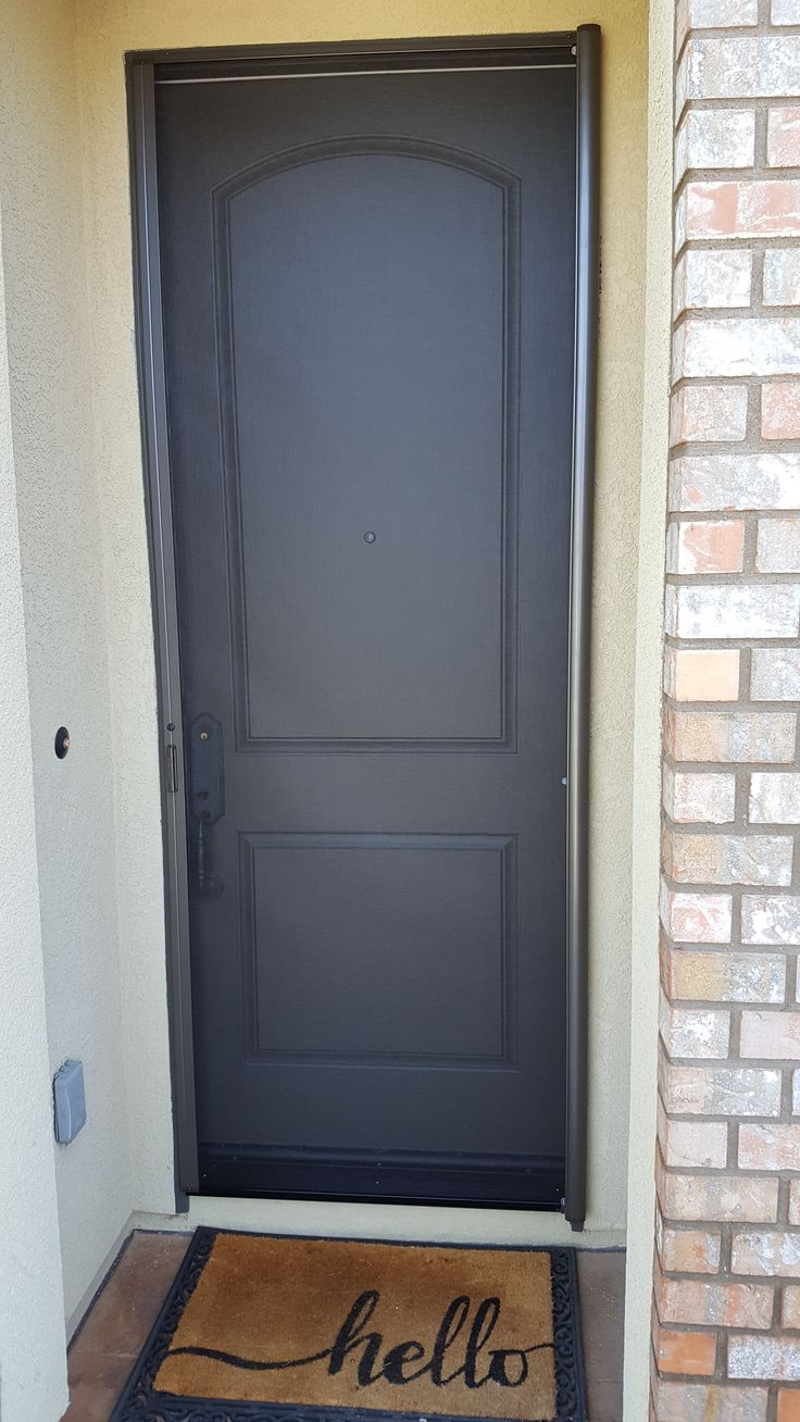 Get the breeze thru your front door without the bugs with