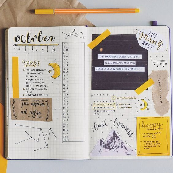 8 idées pour personnaliser son Bullet Journal - 8 ideas to personalize your bullet journal