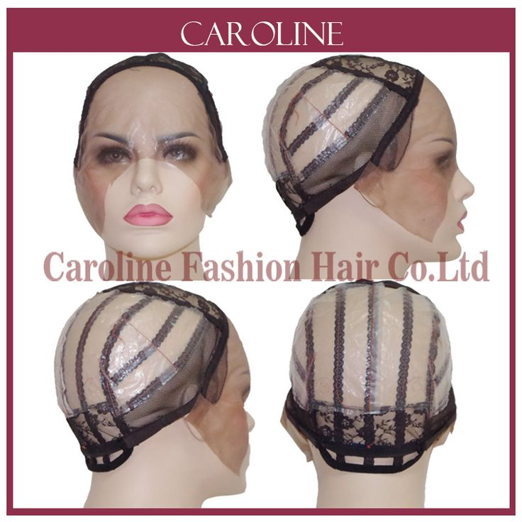 Mesh Front Glueless Lace Wig Cap For Making Wigs With Adjustable Straps Weaving Caps For Women Hair & Hairnets Easycap 6020