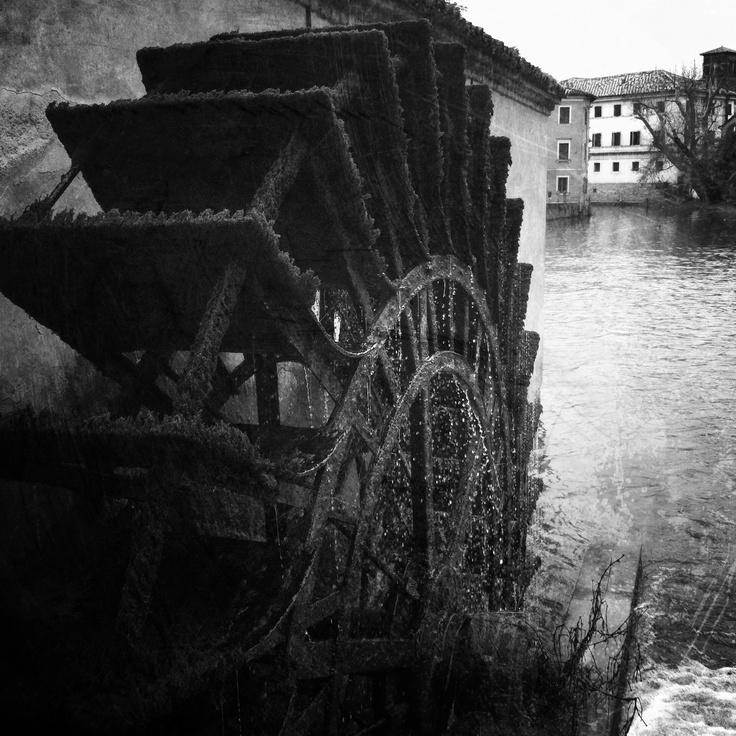 The old mill whell #portogruaro #venice #italy
