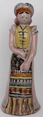 Istvan-Gador-1920-039-s-Art-Deco-5-75-034-034-Figurine-Peasant-Girl-Hungary