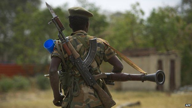"""Both sides in South Sudan's conflict have committed crimes against humanity, including mass killings, sexual slavery and gang-rape, a UN report says.  The """"widespread and systematic"""" atrocities were carried out in homes, hospitals, mosques, churches and UN compounds. Security forces in Juba went from house to house rounding up and killing men from a particular ethnic group. Nuer men were urged to meet at the military base to go out and rape Dinka women."""