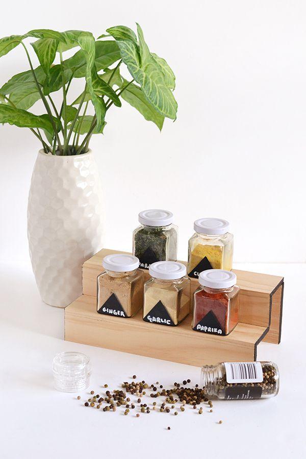 Make It: Minimal Wood Spice Rack » Curbly   DIY Design & Decor