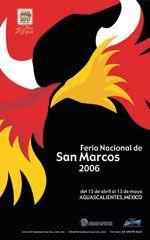 Commemorative poster: Feria de San Marcos 2006