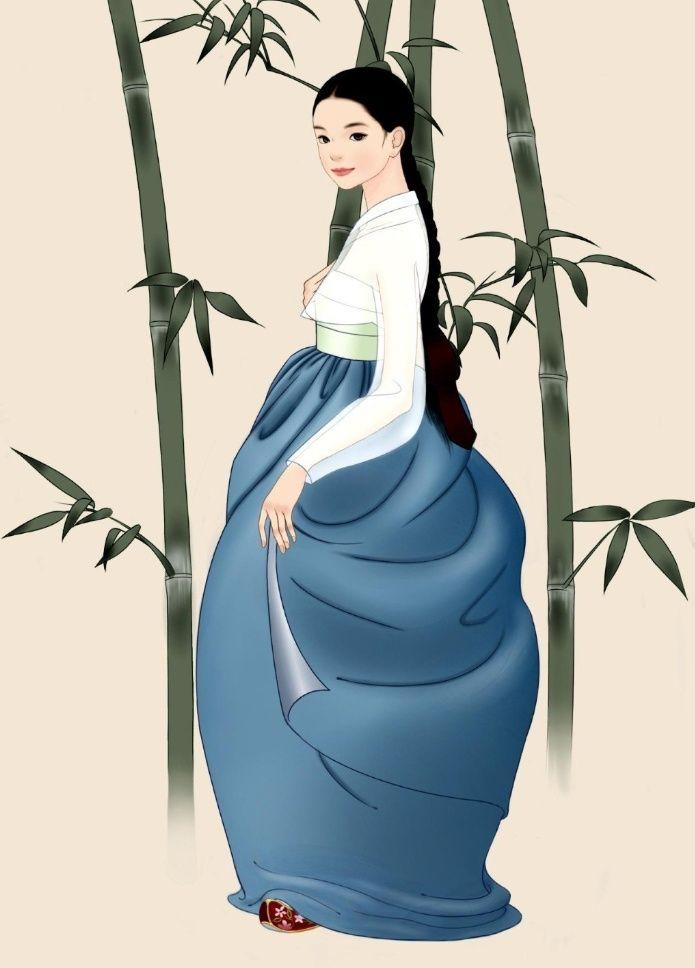 Hanbok Illustration