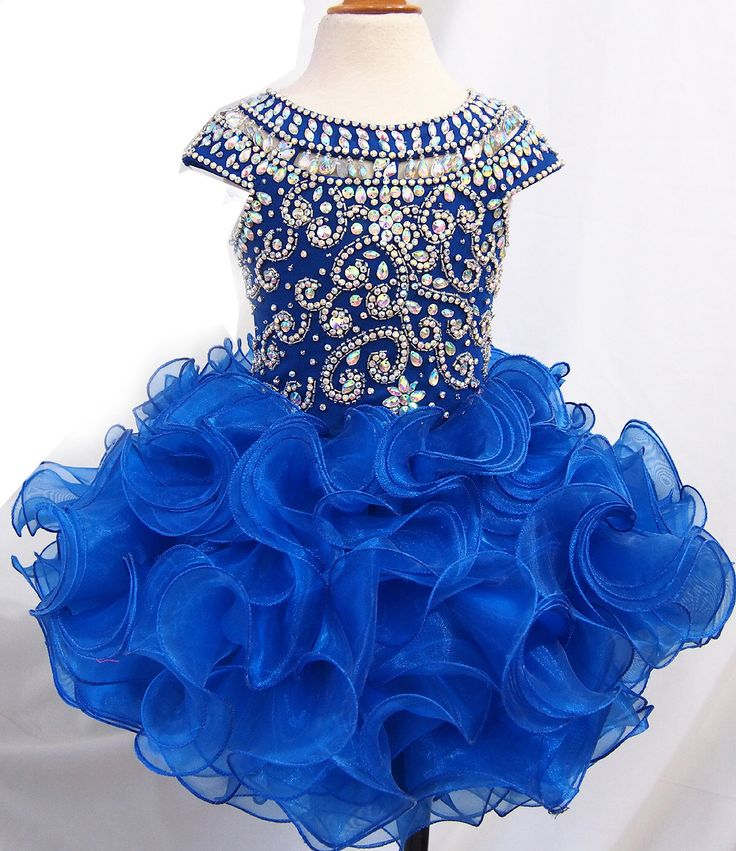 1000  ideas about Baby Pageant Dresses on Pinterest - Glitz ...