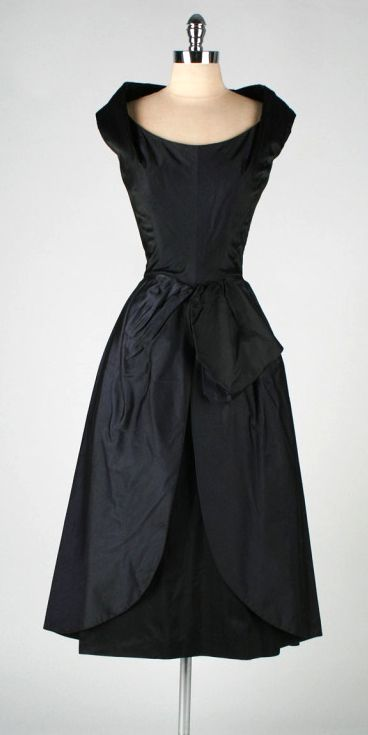 1950's dress // designed by Ceil Chapman
