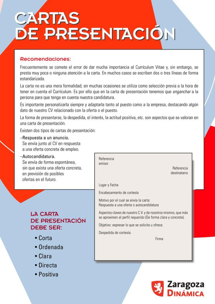 carta presentacion resume