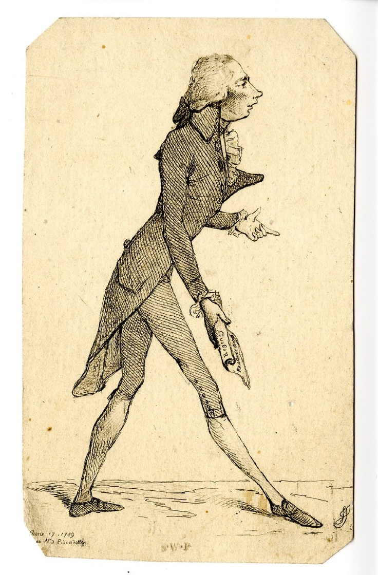 Another caricature of Pitt from 1789 relating to the regency restrictions
