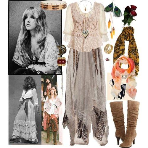 Stevie Nicks Style Clothing | Fleetwood Mac's Stevie Nicks - Polyvore