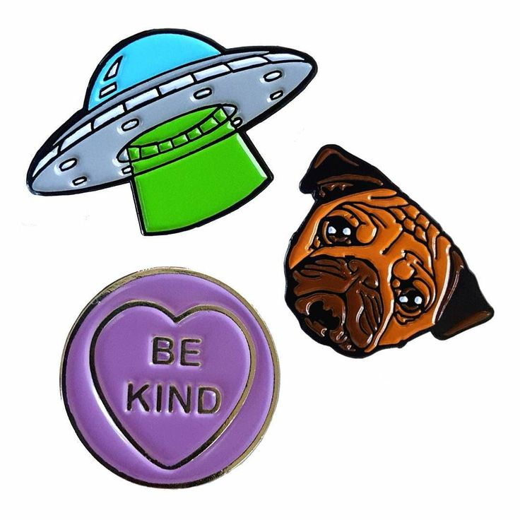 Our brand new enamel pins are now on our website! They're in the 'accessories' section and are 5 each so make the perfect stocking filler or affordable treat #sugarandvice #jewellery #jewelry #enamelpin #pingame #patchgame #pug #pugsofinstagram #dogsofinstagram #ufo #alien #bekind #loveheart #kindness by sugar_and_vice You can follow me at @JayneKitsch