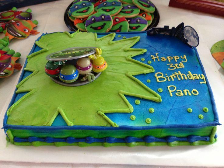 TMNT birthday cake!