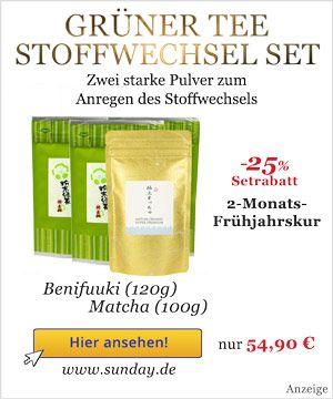 Grüner Tee Zubereitung zum Abnehmen   Dr. Schweikart