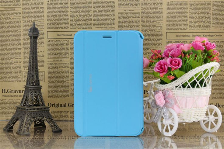 "Business Stereo Stand PU Leather foldable Case for Samsung Galaxy Tab2 7.0 Smart Cover for Samsung Tab 2 7"" P3100 P3110 P6200"