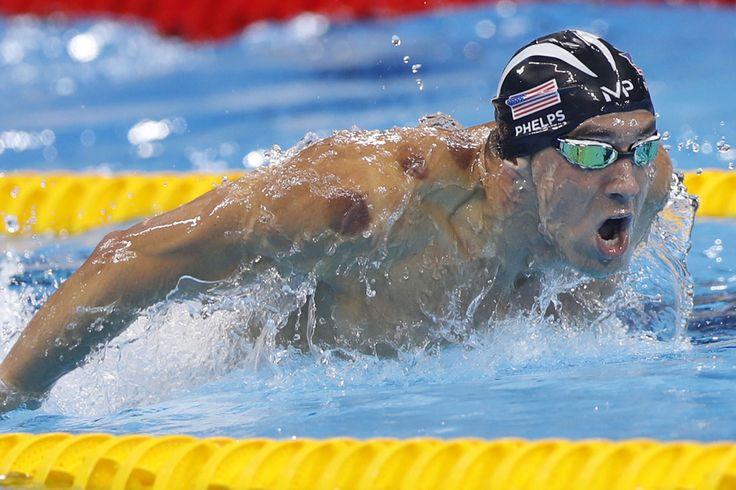 Michael Phelps - Jeux Olympiques