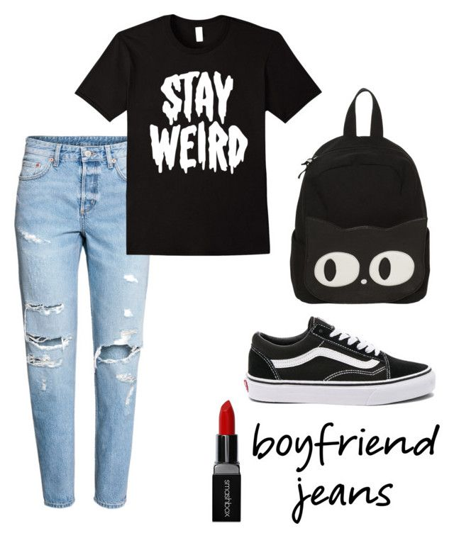 """""""boyfriend"""" by roselie1405x on Polyvore featuring Vans and Smashbox"""