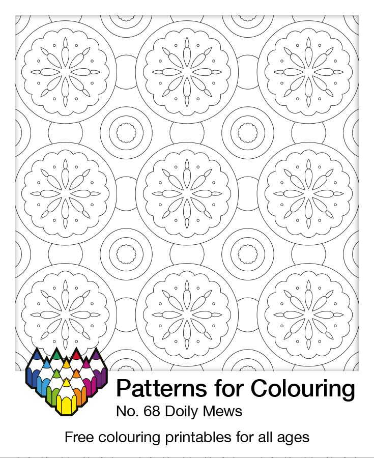 It's time for the Doily Mews. Show us your colours.