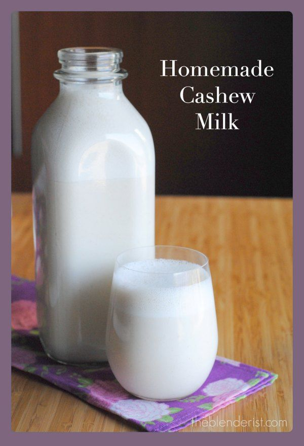 homemade-cashew-milk I love this, I use Vanilla Stevia for the sweetening, this is so good I can almost use it instead of cream.