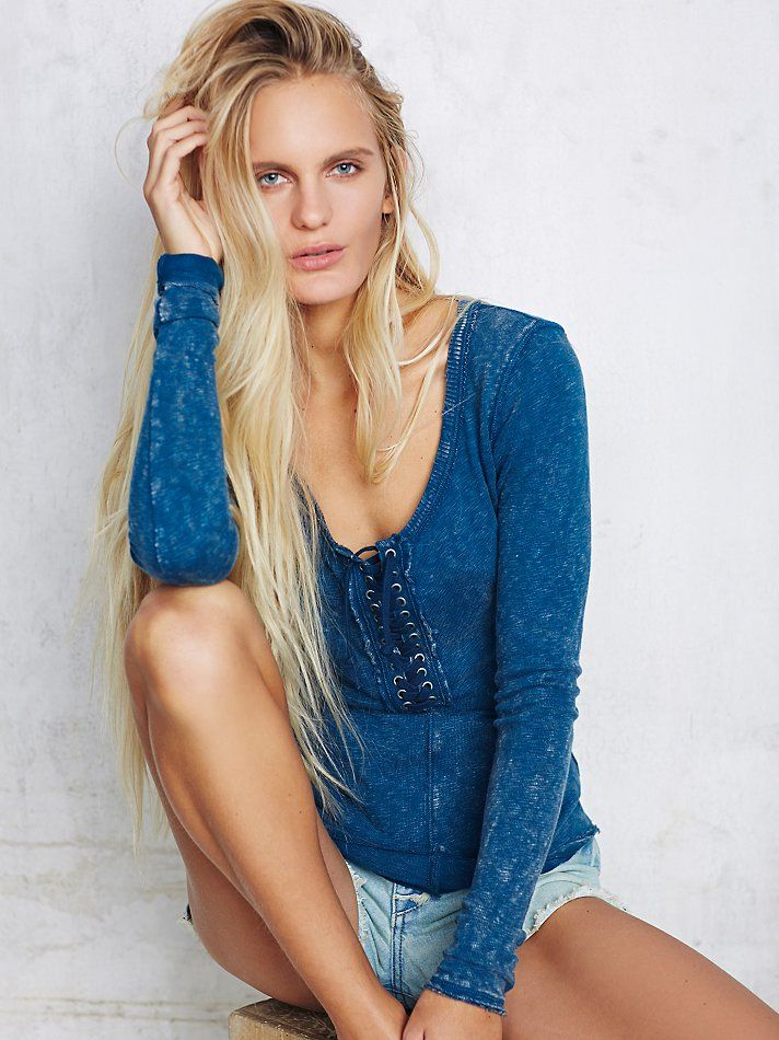 911bf7ea4c Free People We The Free Lace Up Layering