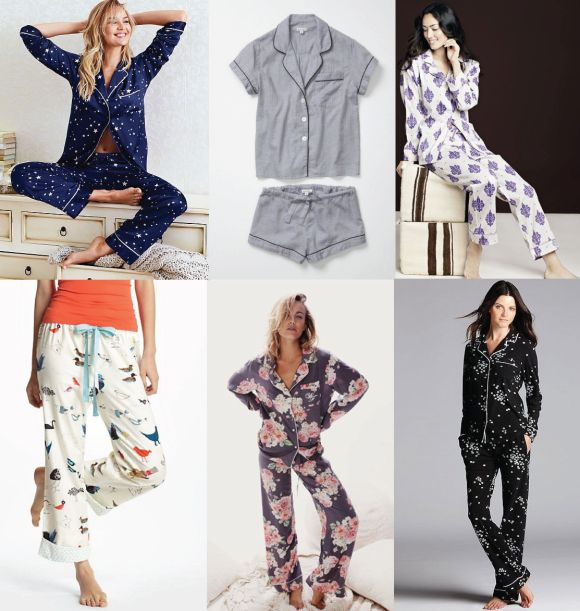 Lisette for Butterick Pajama pattern B6296.