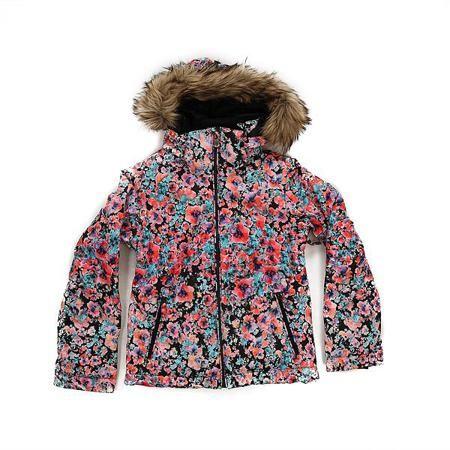 Куртка детская Roxy Jetty Ski Madison Flowers True  — 4589р. --- Приталенная и уютная сноубордическая куртка со съемным мехом. Смелые и модные принты, переплетенные с технологичной мембраной DryFlight® 10К и утеплителем Warmflight® будут держать Вас в тепле в холодные зимние дни.Технические характеристики: Технологичная саржа из полиэстера.Утеплитель Warmflight®.Подкладка из тафты со вставками из трикотажа с начесом.Критические швы проклеены.Съемный капюшон.Съемная отделка на капюшоне из…