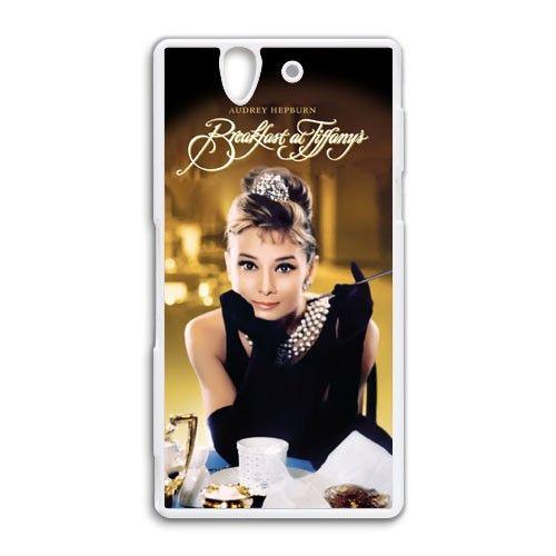 Audrey hepburn breakfast at tiffanys Sony Xperia Z case cover