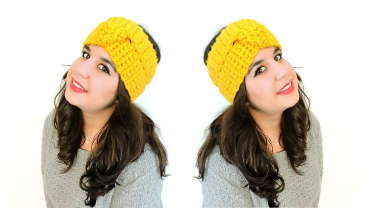 Turbante de ganchillo - How to make crochet turban