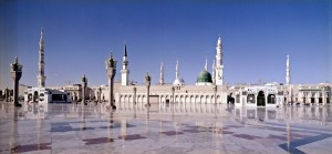 Al-Masjid al-Nabawī often called the Prophet's Mosque, is a mosque built by the Islamic Prophet Muhammad situated in the city of Medina. It is the second holiest site in Islam.