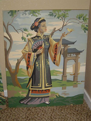 Paint by Number Geisha <3Numbers Geishas, Numbers 3, Painting By Numbers, Numbers Pbn